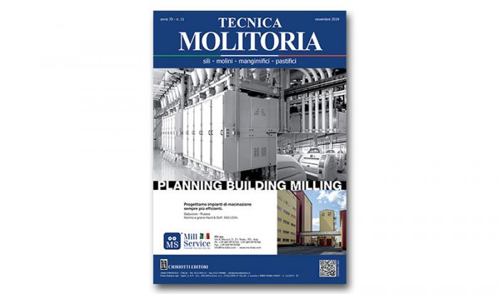 "The November issue of ""Tecnica Molitoria"" is now available"