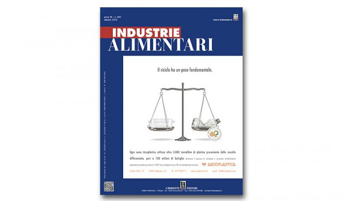 The new Issue of Industrie Alimentari is now available