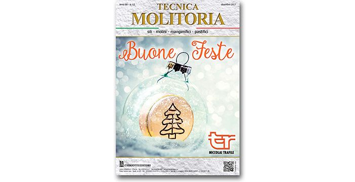 "The December issue of ""Tecnica Molitoria"" is now available"