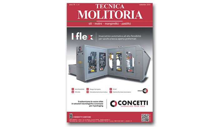 "The September issue of ""Tecnica Molitoria"" is now available"