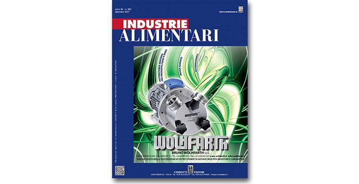 "The last issue of ""Industrie Alimentari"" is ready"