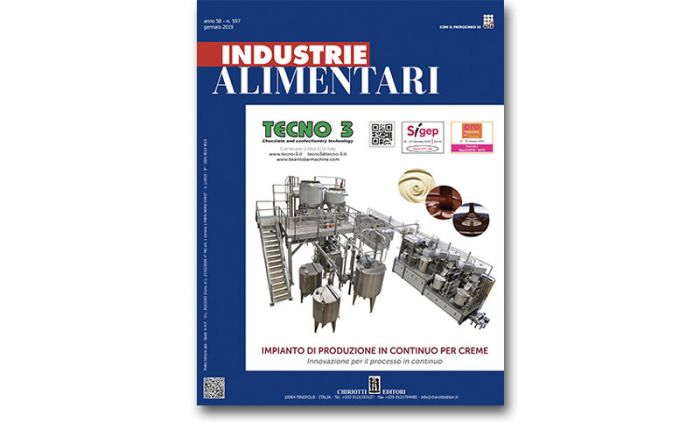 "The January Issue of ""Industrie Alimentari"" is now available"