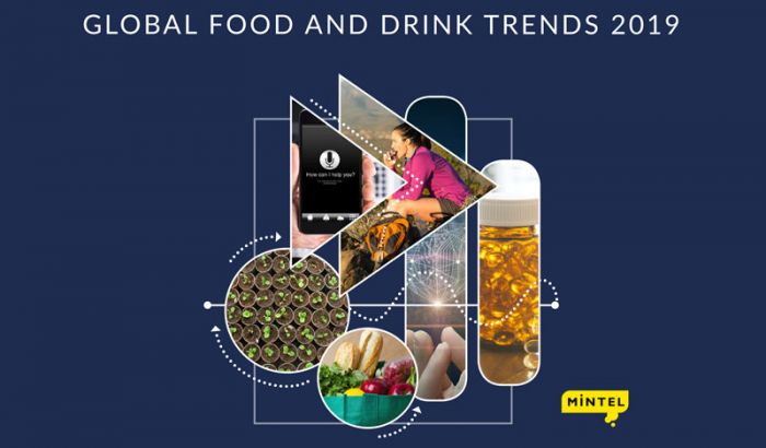 The three global food and drink trends for 2019 according Mintel