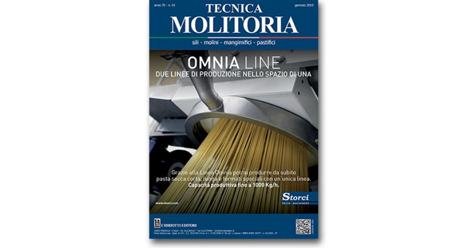 "The January issue of ""Tecnica Molitoria"" is now available"