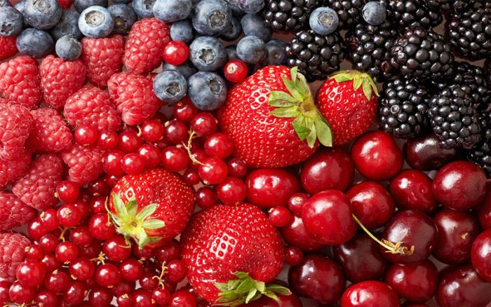 Inactivation of hepatitis A virus on berries by high-pressure processing