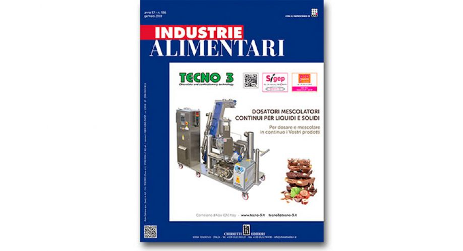 "The first issue of ""Industrie Alimentari"" is now available"