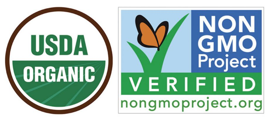 Consumers see 'organic' and 'non-GM' food labels as synonymous