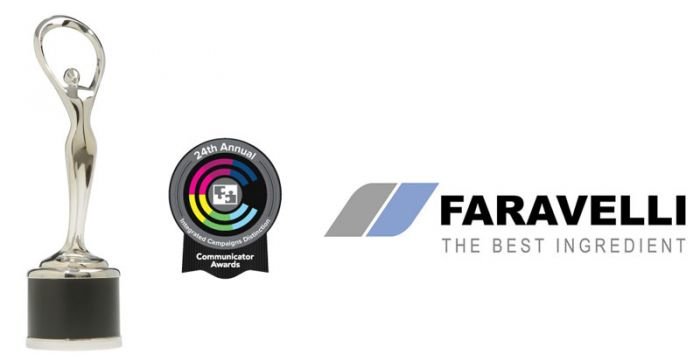 Faravelli honored by The Communicator Awards with an Award of Distinction