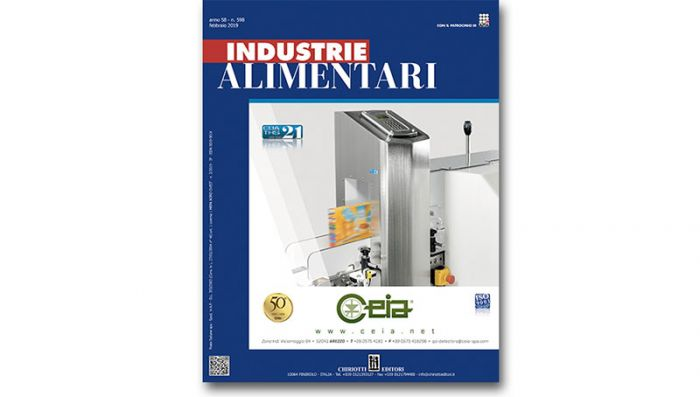 "The February issue of ""Industrie Alimentari"" is available now"