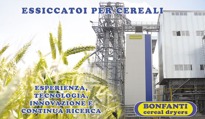 New technologies for Bonfanti cereal dryer
